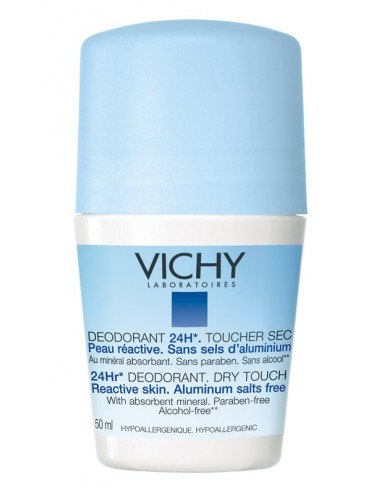 Vichy déodorant bille sans sel d'aluminium