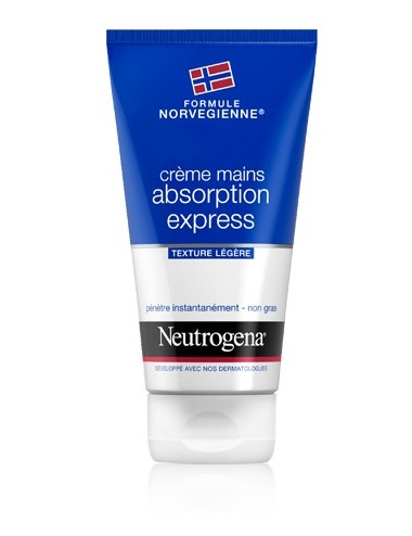 Neutrogena crème mains absorption express 75ml