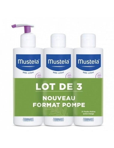 Mustela Liniment Lot de 3 x 400ml