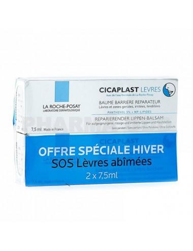 La Roche-Posay Cicaplast baume lèvres 2 x 7.5 ml