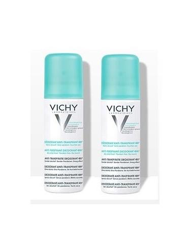 Vichy LOT*2 Déodorant Anti-Transpirant 48H- Aérosol
