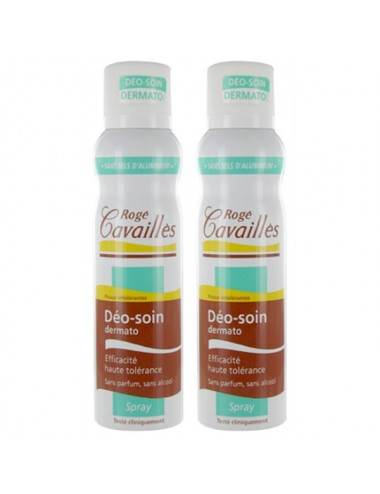 Rogé cavaillès déodorant soin dermatologique spray DUO 2X150ml