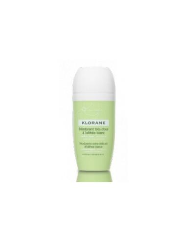 Klorane déodorant très doux à l'althéa blanc bille DUO 2X40ml