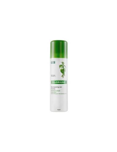 Klorane shampoing sec séborégulateur à l'ortie DUO 2X150ml