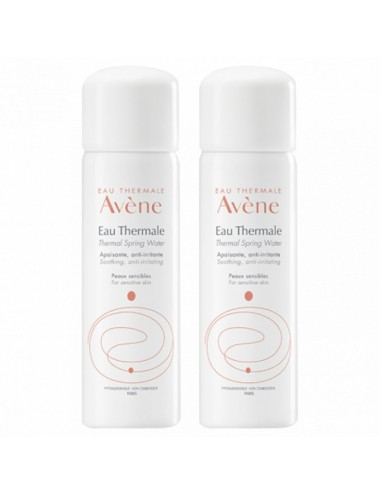 Avene Spray d'Eau Thermale 2 flacons de 300ml