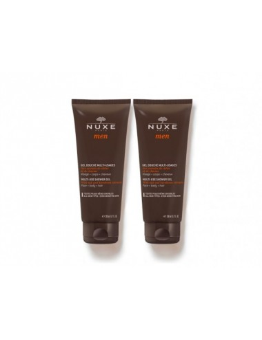 Nuxe Men Gel Douche Multi-Usages Lot de 2x200ml