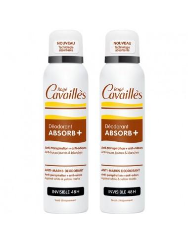 Rogé Cavaillès Déo-Soin Anti-Traces Spray 2 x 150ml