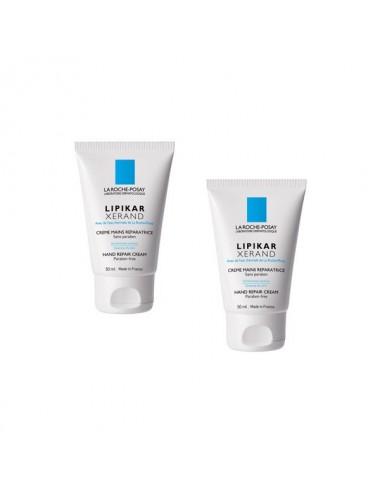 La Roche Posay lipikar xerand crème pour les mains DUO 50mlX2