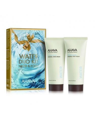 Ahava Duo Mains et Pieds Water Lot de 2 x 100ml