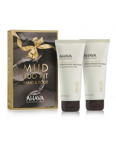 Ahava Kit duo Dermud Mains et PiedsLot de 2 x 100ml
