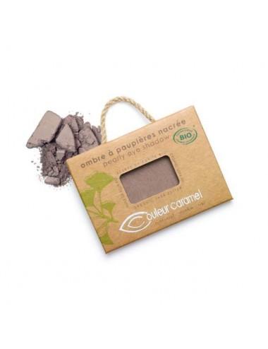 Couleur Caramel Ombre à Paupières Nacrée Bio N°44 Brun Prune 2,5g
