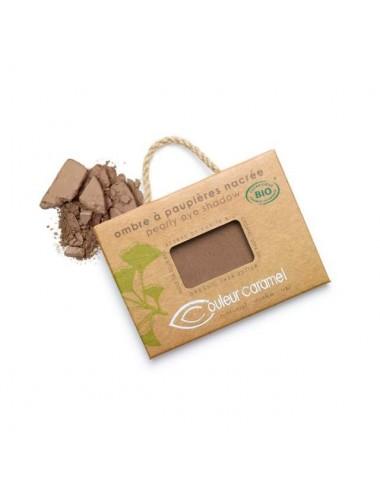 Couleur Caramel Ombre à Paupières Nacrée Bio N°67 Chocolat Cuivré 2,5g