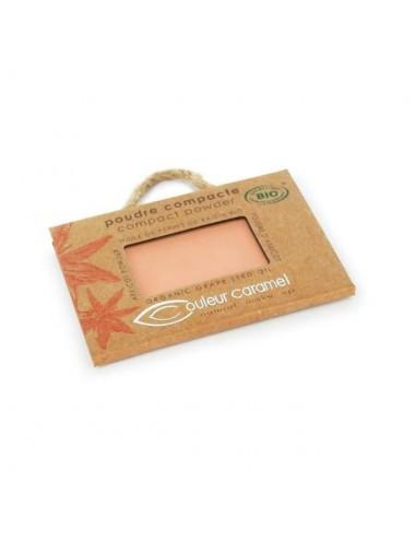 Couleur Caramel Recharge Poudre Compacte Bio N°04 Beige Orangé 7G