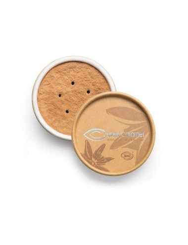 Couleur Caramel Fond de Teint Bio Minéral N°03 Beige Abricot 6g
