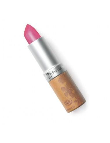 Couleur Caramel Rouge à Lèvres Nacré Bio N°206 Framboise