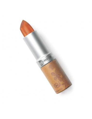 Couleur Caramel Rouge à Lèvres Nacré Bio N°209 Bronze Doré