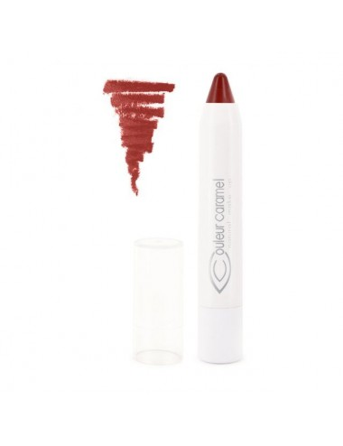 Couleur Caramel Crayon Lèvres Bio Twist & Lips N°405 Rouge Mat