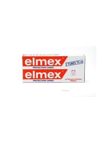 Elmex Lot Dentifrice Anti-Caries - 2x75 ml
