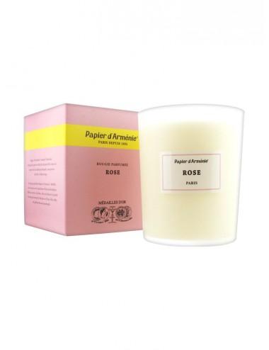 Papier d'Arménie La Rose Bougie Parfumée 40h