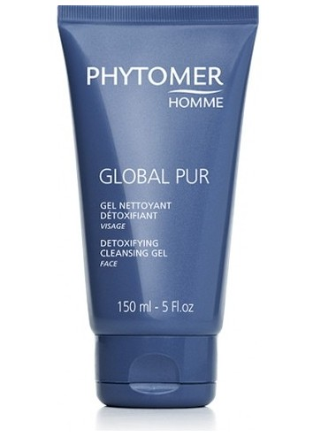 Phytomer Homme Global Pur Gel Nettoyant Détoxifiant 150ml