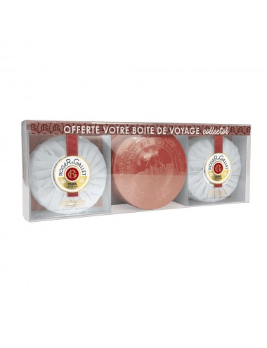 Roger & Gallet Coffret 2 Savons Jean-Marie Farina + Boite Voyage Collector Offerte