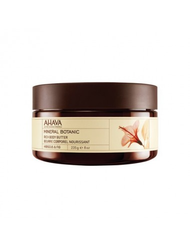 Ahava beurre corporel hibiscus figue 235ml