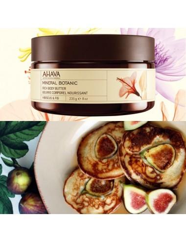 Ahava beurre corporel hibiscus figue 235ml