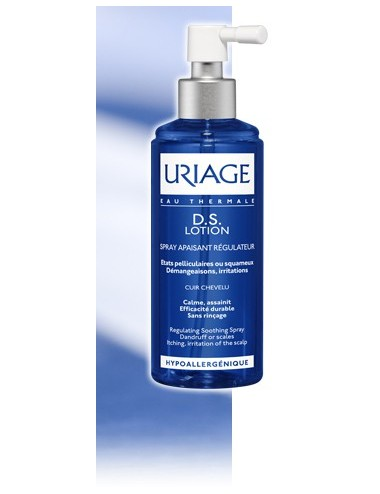 Uriage DS Hair - Lotion Antipelliculaire Régulatrice - Flacon spray 100 ml