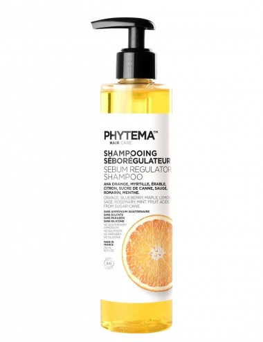 Phytema Hair Care Shampooing Seborégulateur Cheveux Gras bio 250ml