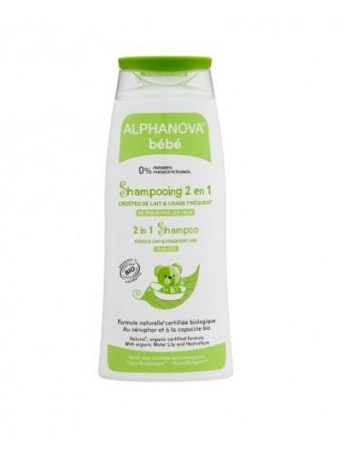 Alphanova Bébé Shampooing 2 en 1 Bio 200ml