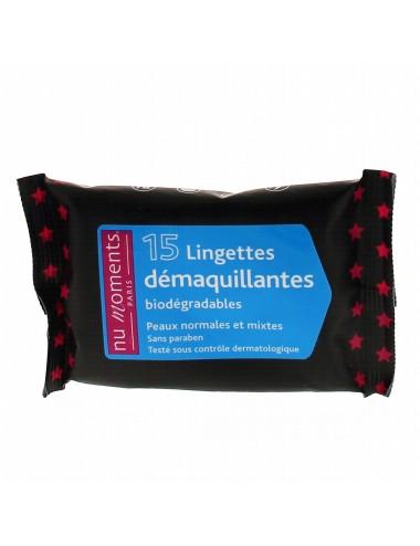 Lingettes Démaquillantes peaux normales - BEAUTE