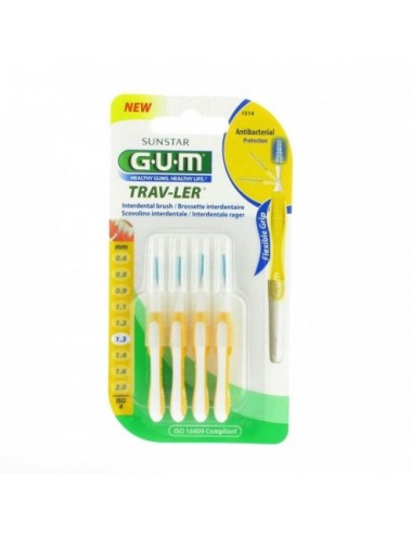 Gum Brossette interdentaire Trav-Ler 1,3 mm