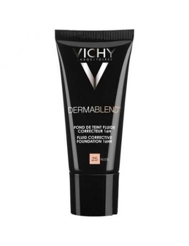 Vichy dermablend fond de teint correcteur 25 nude