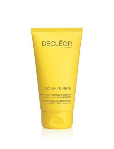 Decléor masque 2 en 1 purifiant et exfoliant 50ml