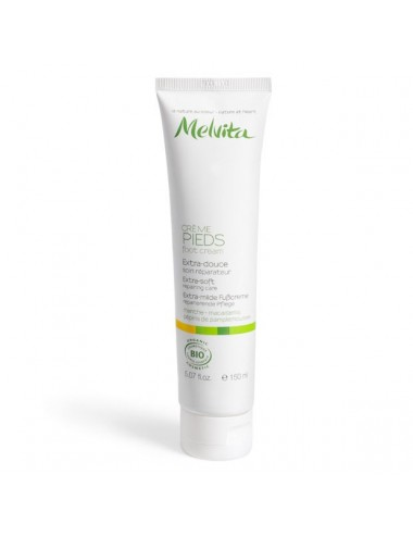 Melvita crème pieds extra-douce 150ml