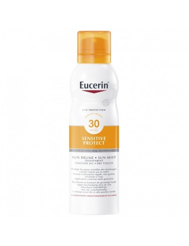 Eucerin Sun Protection Sensitive Protect Brume Transparente SPF30 200ml