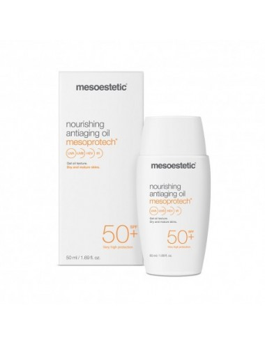 Mesoestetic Mesoprotech nourishing anti aging oil spf50+ 50 ml