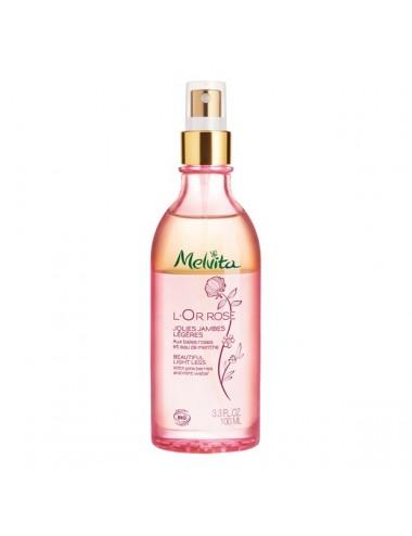 Melvita L'Or Rose Jolies Jambes Légères Bio 100 ml