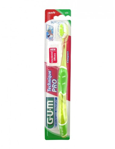 Gum Brosse à Dents Technique Pro Compact Soft 525