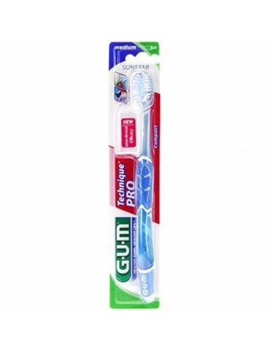 Gum Brosse à dents Technique Pro Medium Compacte