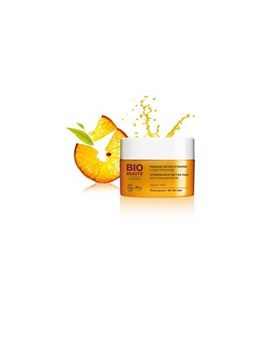 Nuxe bio masque détox vitaminé à l'eau d'orange 50ml