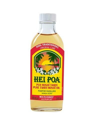 Hei Poa Pur Monoï Tahiti Parfum Vaniller 100 ml