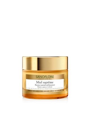 Sanoflore miel supreme baume nutritif 50ml