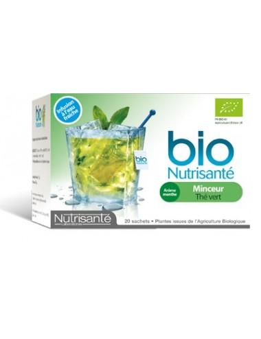 Nutrisanté Infusion Froide Bio Minceur 20 Sachets