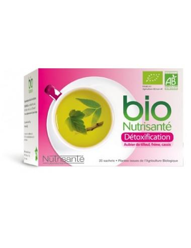 Nutrisanté Infusion Bio Détoxification 20 Sachets