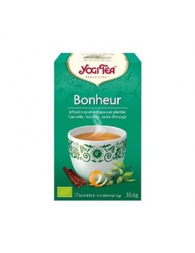 Yogi Tea Infusions Bio Bonheur 17 Sachets