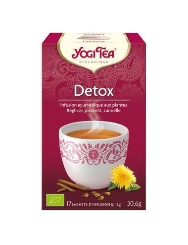 Yogi Tea Infusions Bio Detox 17 Sachets