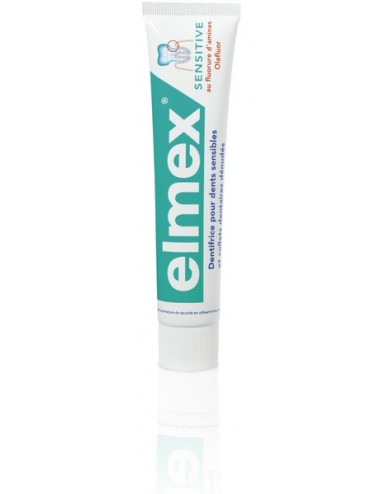 Elmex dentifrice sensitive DUO