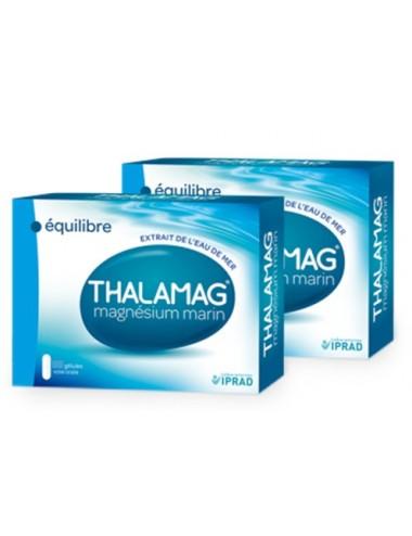 Thalamag Magnésium Marin Équilibre Lot de 2 x 60 Gélules