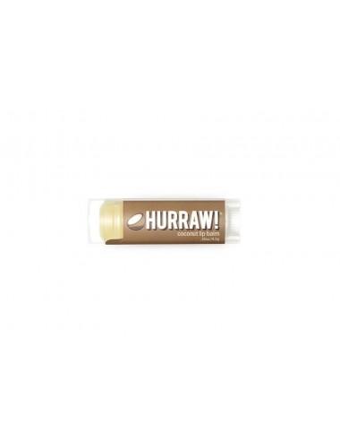Hurraw Baume à Lèvres Végan Noix de Coco 4,3g